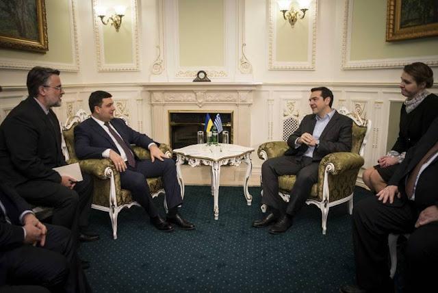 Η επιζήμια για την Ελληνική Ομογένεια επίσκεψη Τσίπρα στην Ουκρανία