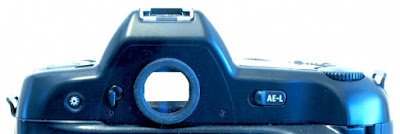 Nikon F90X (N90s), Back of top panel