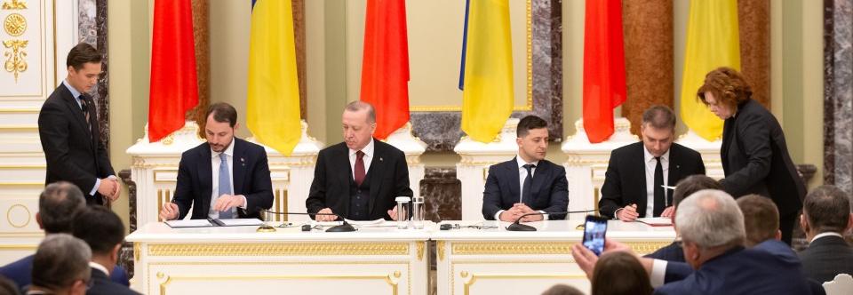 Україна та Туреччина підписали угоду про співробітництво у сфері оборони