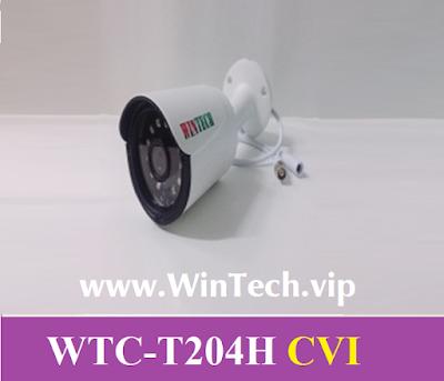 Camera CVI WinTech WTC-T204H C Độ phân giải 2.0 MP