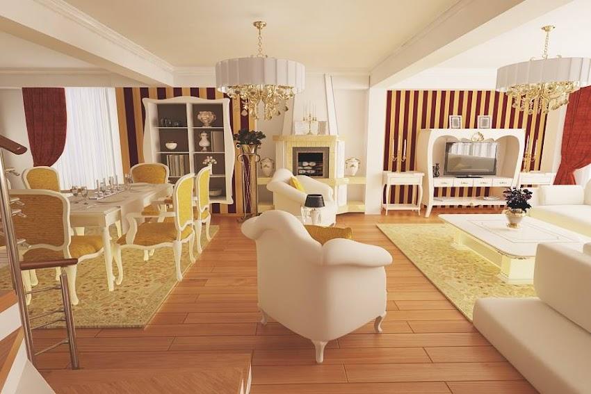 Amenajari interioare Bucuresti - Design interior living clasic casa Bucuresti