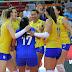 Brasil vira para cima da Sérvia e vai à final do Grand Prix contra a Itália