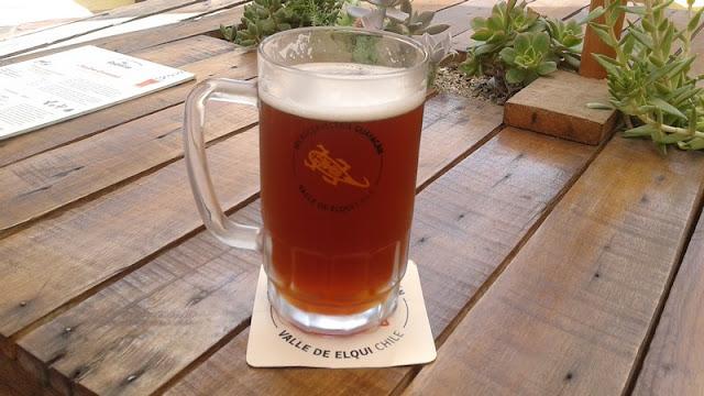 Cerveza Artesanal de la Cerveceria Guayacan