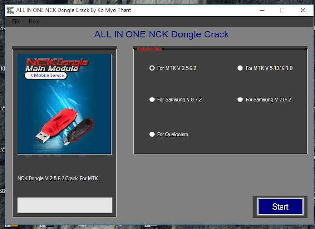 ALL IN ONE NCK Dongle Full Cracked