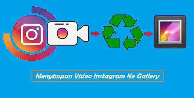 Cara Menyimpan Video Instagram Ke Gallery Tanpa Aplikasi