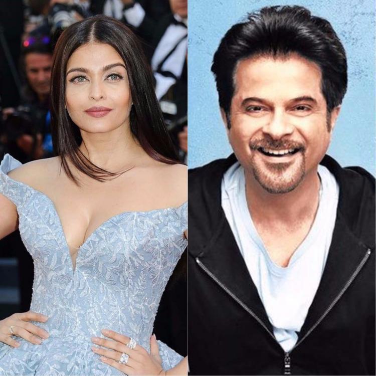 Anil Kapoor and Aishwarya Rai