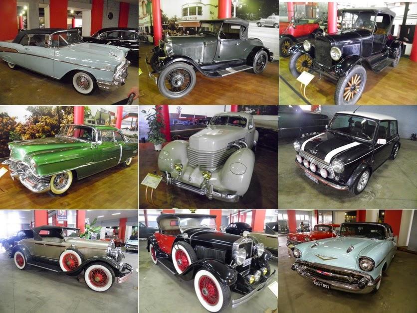 Museu do automóvel - Parque Barigui - Curitiba - VIAJAR - TURISMO E VIAGEM