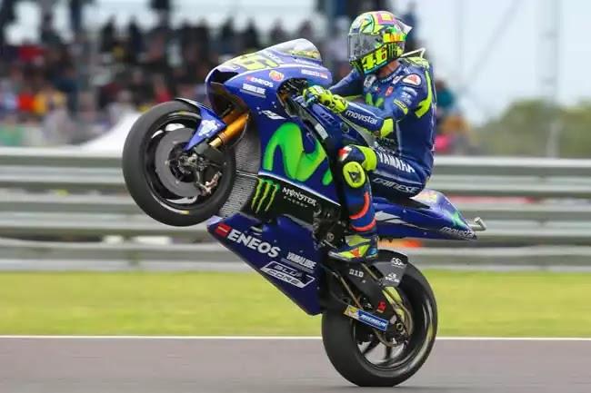 Valentino Rossi Standing di MotoGP Argentina