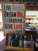 Live simply, dream big