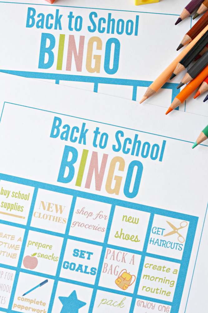 Massif image with regard to back to school bingo printable