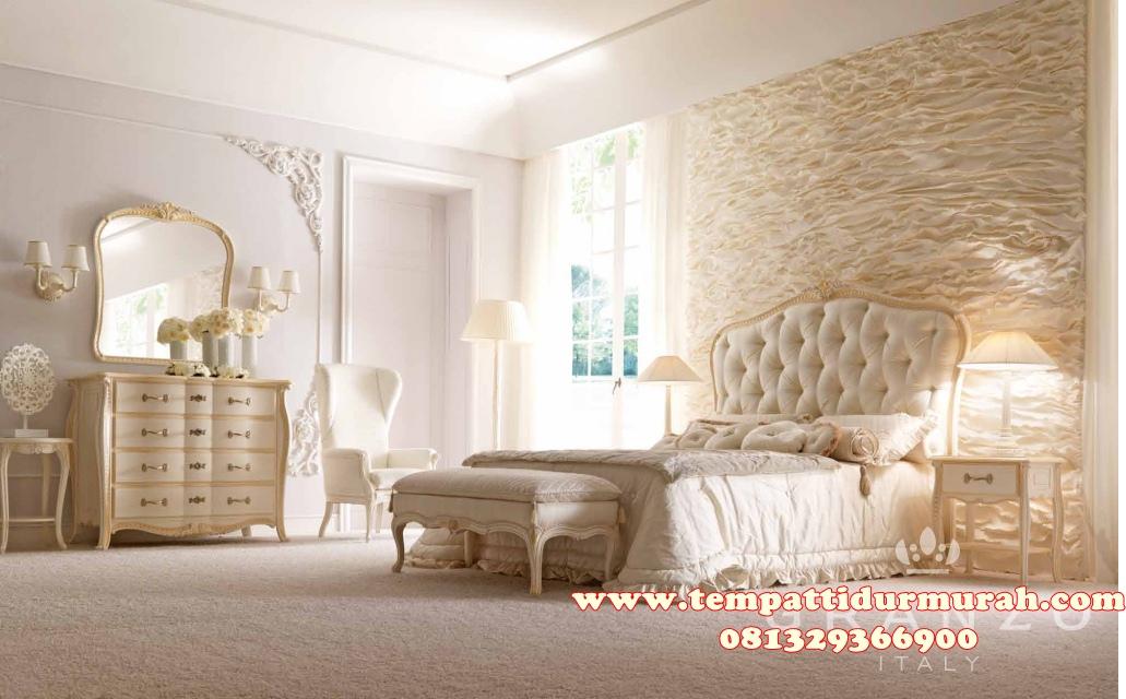 Set Tempat Tidur Ukir Classic Minimalis