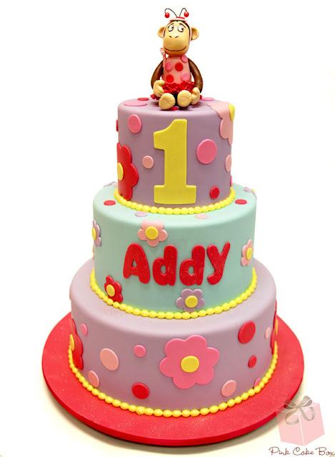 Bánh sinh nhật hình con khỉ dễ thương ngộ nghĩnh đáng yêu
