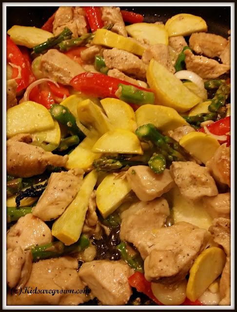 Chicken and Spring Vegetables