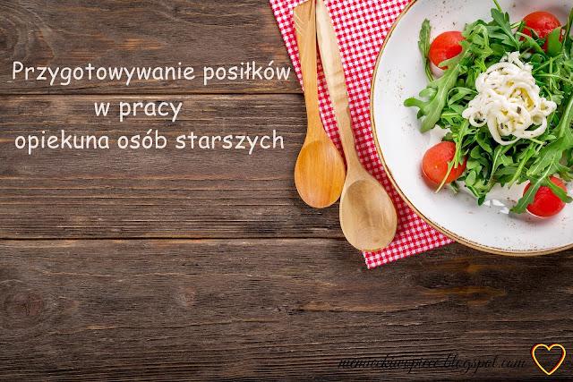 Przygotowywanie posiłków (w pracy opiekuna) cz. 1 - Zubereitung von Mahlzeiten