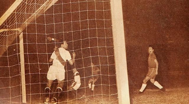 Perú y Chile en Campeonato Sudamericano de 1957
