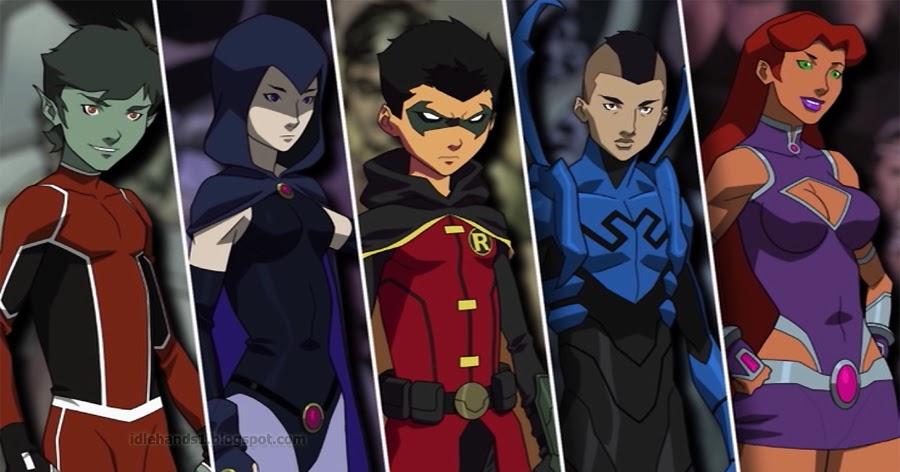 Cinema 19 Justice League Vs Teen Titans  Spoilers -1996