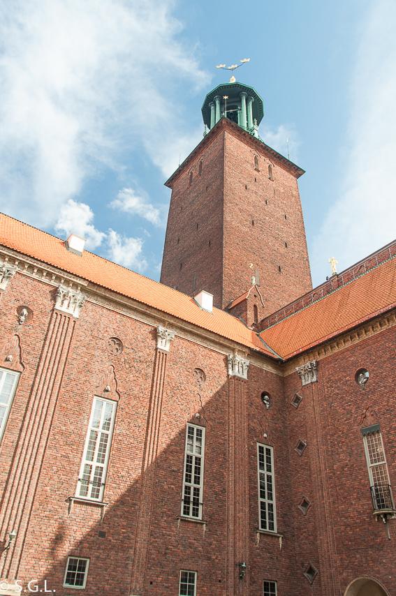 Torre del ayuntamiento de Estocolmo