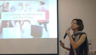 "Talk at Fashion Revolution Singapore 2017 ""Mending is Trending"""