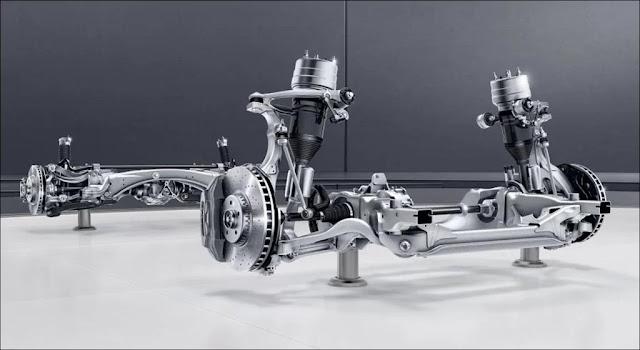 Hệ thống khung gầm trên Mercedes GLC 300 4MATIC 2019 an toàn hàng đầu thế giới
