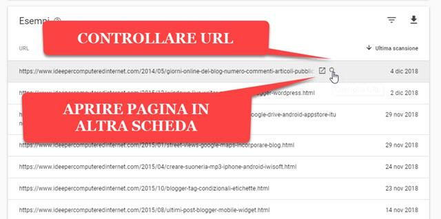 controllare-url-pagine-escluse