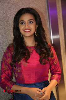 Actress Keerthi Suresh Stills at Remo Success Meet  0091.JPG