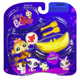 Littlest Pet Shop Portable Pets Monkey (#811) Pet