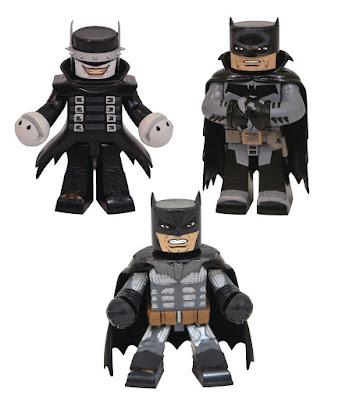 DC Comics Vinimates Series 6 Vinyl Figures by Diamond Select Toys – Batman Who Laughs, Batman: Damned & Batman: White Knight