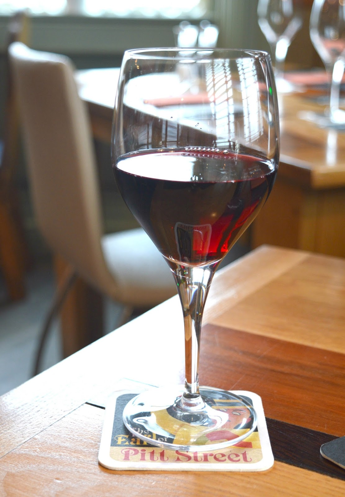Sunday Lunch at the Earl of Pitt Street - Wine