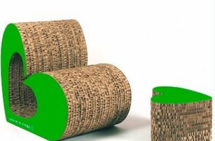 Arredo a modo mio le collezioni design in cartone di corvasce - Mobili di cartone design ...
