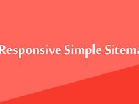 Cara Membuat Sitemap Full Responsive Blogger