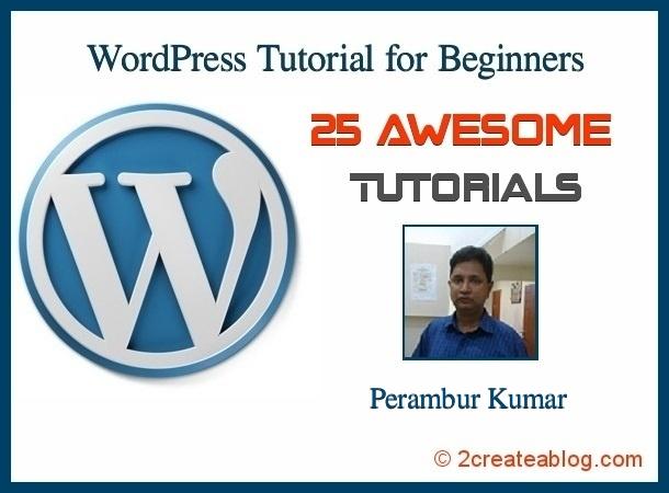 WordPress Tutorial for Beginners