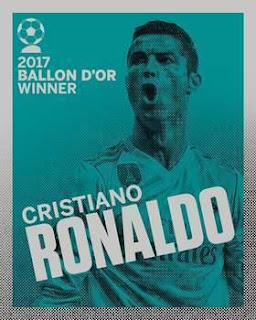 *CR7⭐ Wins Record-Equalling 5⃣th Ballon d'Or🏆