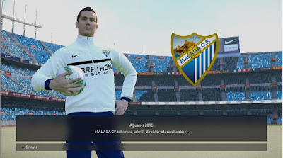 PES 2017 Malaga C.F Graphic Mode For PES 2016 by Mertonno