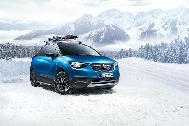 Γνήσια αξεσουάρ Opel για το Crossland X