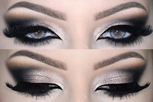 Party Makeup 2017 In Indian And Stani Women Health Fitness. Christmas Eye Makeup Ideas