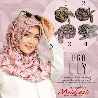 Jilbab Instant HAGIA LILY