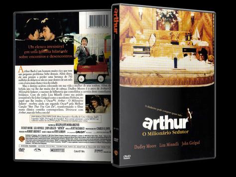 Capa DVD Arthur: O Milionário Sedutor