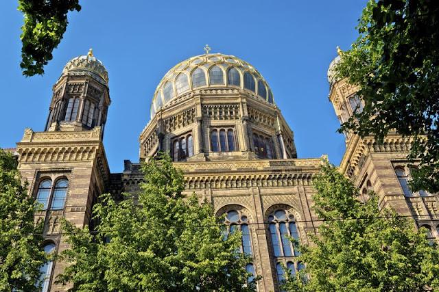Neue Synagoge em Berlim