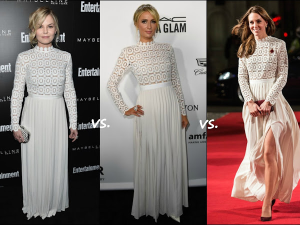 👗Jennifer Morrison vs Paris Hilton vs Catherine, Duchess of Cambridge