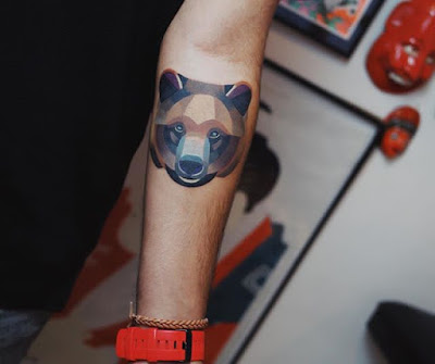 bear head tattoos