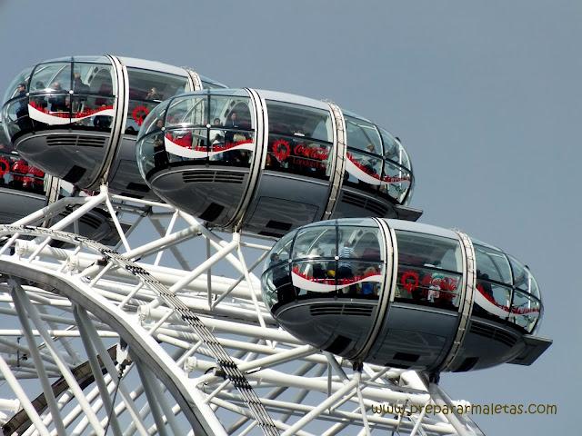 London Eye, una de las atracciones más visitadas de Londres