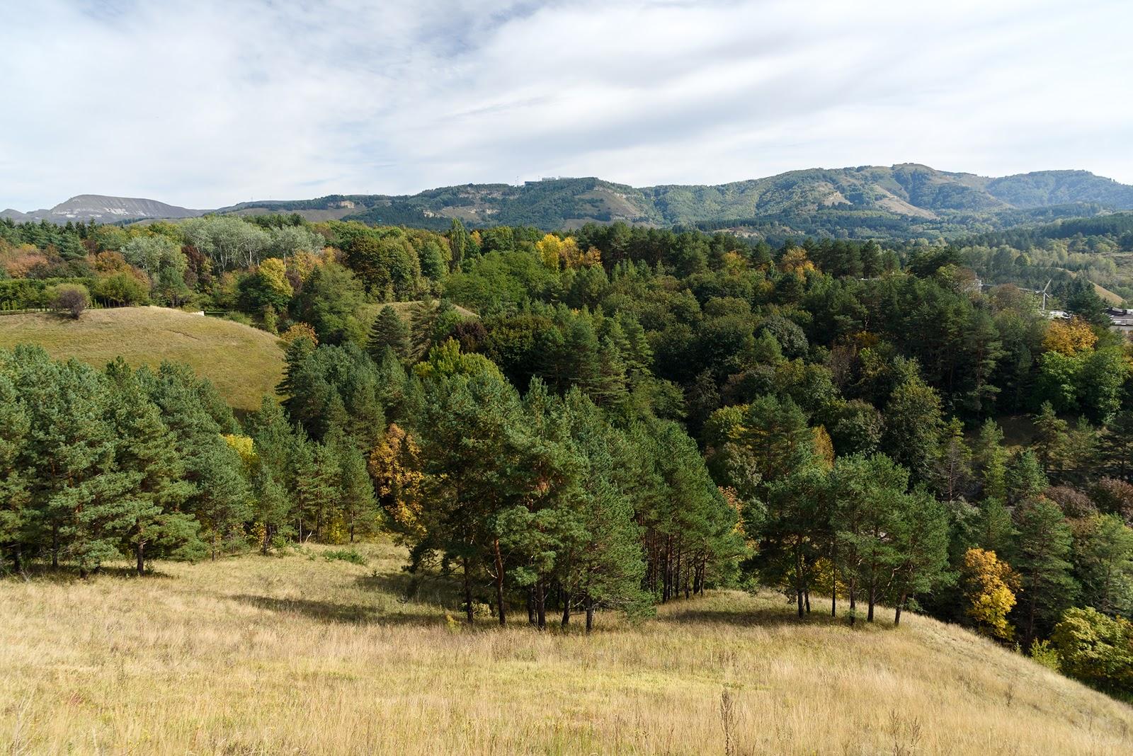 Вид на горы в Кисловодске