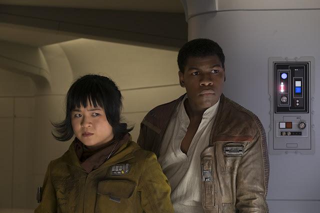 Rose y Finn Last Jedi