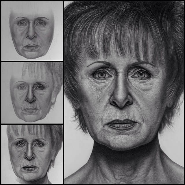 07-my-Mother-Justin-Cohen-Realistic-Portrait-Drawings-WIP-www-designstack-co