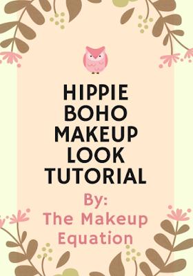 Hippie Boho Makeup Look Tutorial