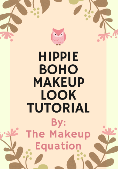 Hippie Boho Makeup Look Tutorial
