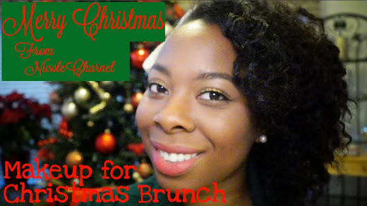 Makeup for Christmas Brunch [VIDEO]
