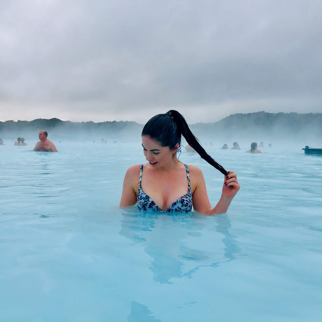 Iceland, the blue lagoon, bikini, travel, spa