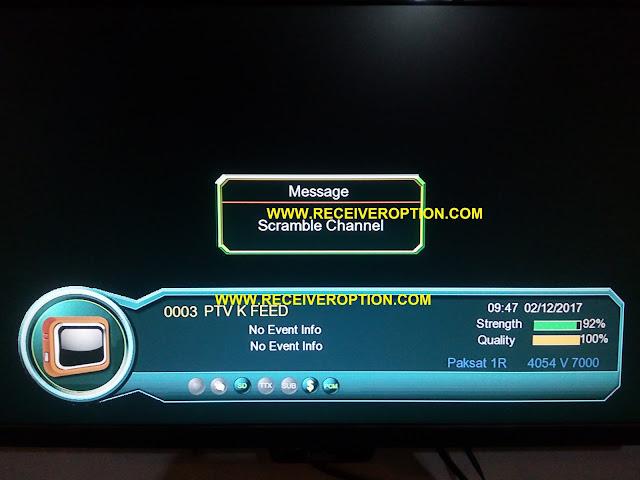 STAR TRUK 2017 HD RECEIVER BISS KEY OPTION