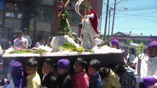 procesion niños divina providencia